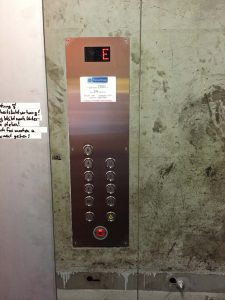 Umbau Fahrkorbtableau